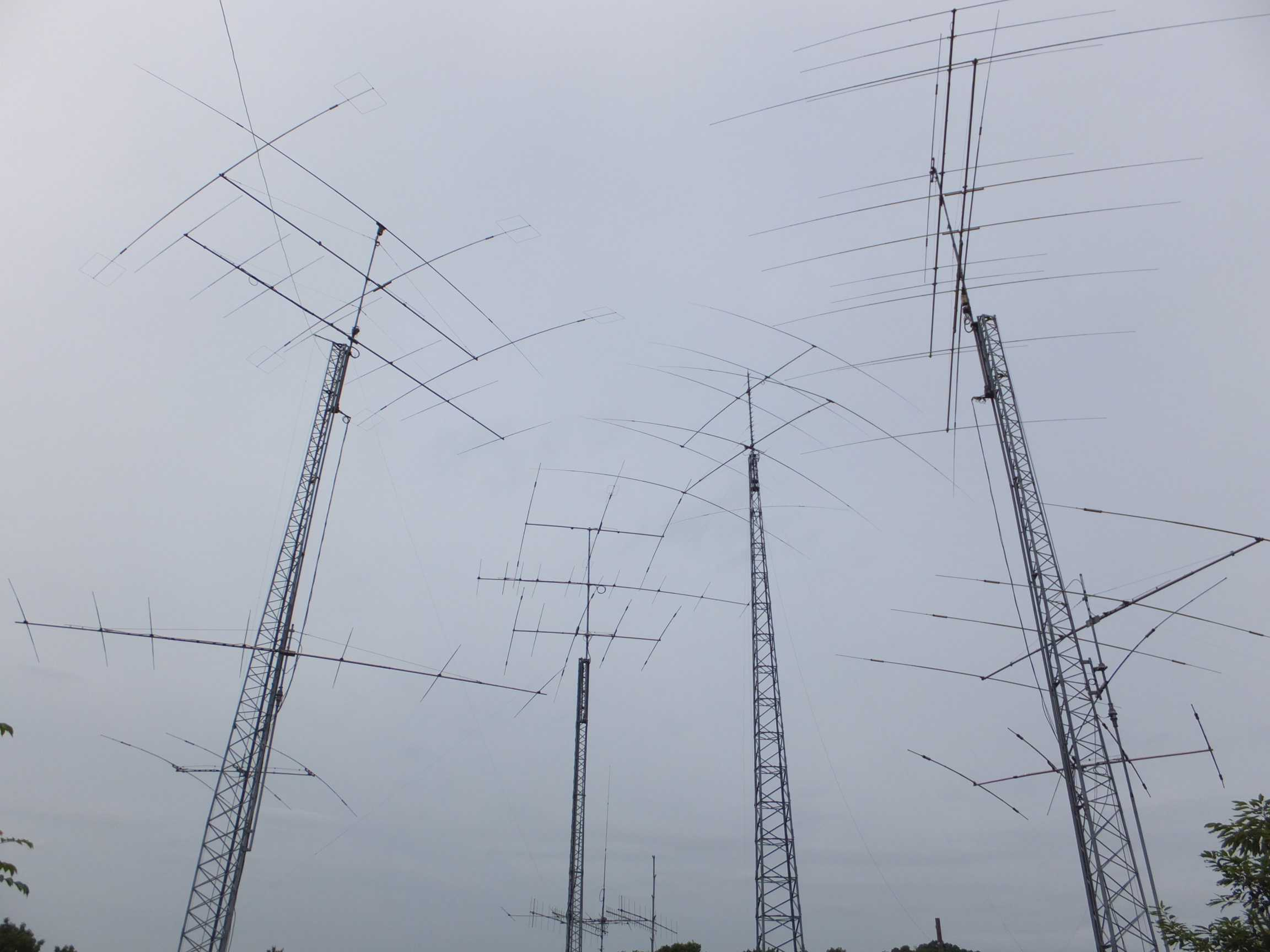 Antenna farm - not for me:-)